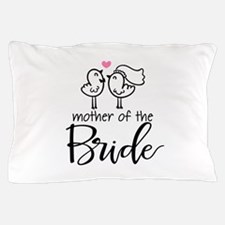 Mother of the Bride - Bird Couple Pillow Case