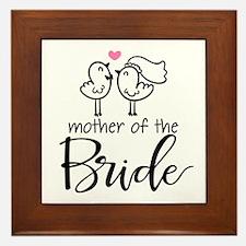 Mother of the Bride - Bird Couple Framed Tile