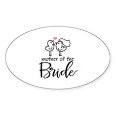 Mother of the Bride - Bird Co Decal