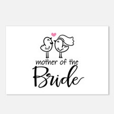 Mother of the Bride - Bir Postcards (Package of 8)