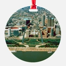 St. Louis Arch and Skyline Ornament