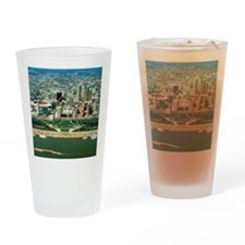 St. Louis Arch and Skyline Drinking Glass