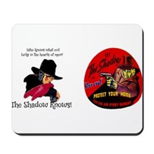 THE SHADOW - OLD TIME RADIO Mousepad