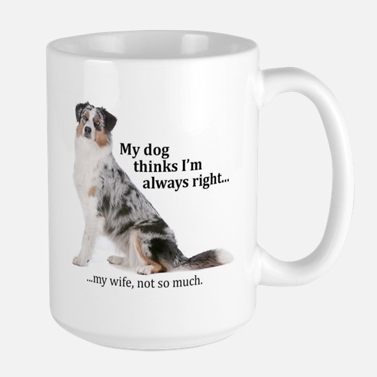 Aussie v Wife Mugs