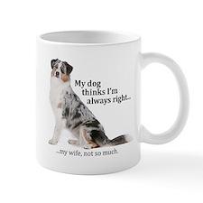 Aussie v Wife Mugs