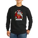 Mayor Family Crest Long Sleeve Dark T-Shirt