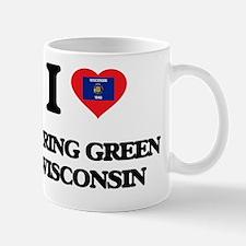 I love Spring Green Wisconsin Mug
