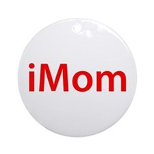 iMom-red Ornament (Round)