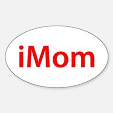 iMom-red Decal