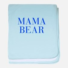 Mama Bear-Bau blue 500 baby blanket