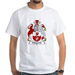 Maycock Family Crest White T-Shirt