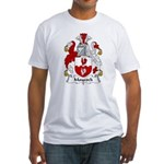 Maycock Family Crest Fitted T-Shirt