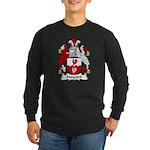Maycock Family Crest Long Sleeve Dark T-Shirt