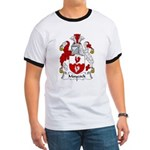 Maycock Family Crest Ringer T
