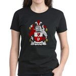 Maycock Family Crest Women's Dark T-Shirt