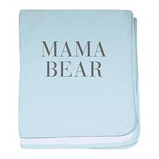 MAMA BEAR-Bau gray 500 baby blanket