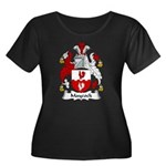Maycock Family Crest Women's Plus Size Scoop Neck