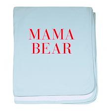 Mama Bear-Bau red 500 baby blanket