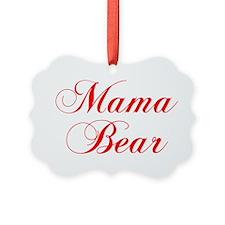 Mama Bear-Cho red 300 Ornament