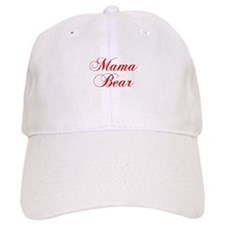 Mama Bear-Cho red 300 Baseball Baseball Cap