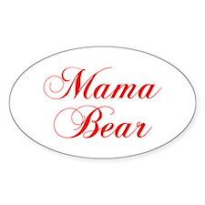 Mama Bear-Cho red 300 Decal