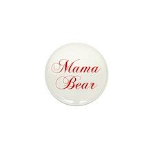 Mama Bear-Cho red 300 Mini Button (100 pack)