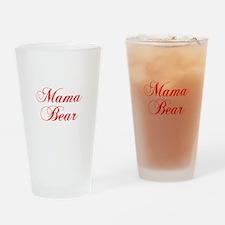 Mama Bear-Cho red 300 Drinking Glass