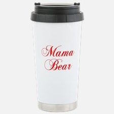 Mama Bear-Cho red 300 Travel Mug
