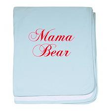 Mama Bear-Cho red 300 baby blanket