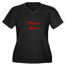 Mama Bear-Cho red 300 Plus Size T-Shirt