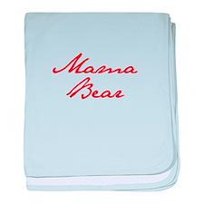 Mama Bear-Jan red 400 baby blanket