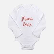 Mama Bear-MAS red 400 Body Suit