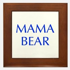 Mama Bear-Opt blue 550 Framed Tile