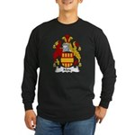 May Family Crest Long Sleeve Dark T-Shirt