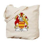 May Family Crest Tote Bag