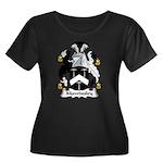 Mawdesley Family Crest Women's Plus Size Scoop N