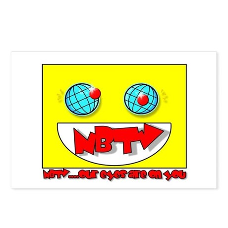 NBTV Postcards (Package of 8)