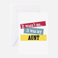 Aunt Greeting Cards (Pk of 10)
