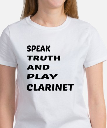 Speak Truth And Play Tee