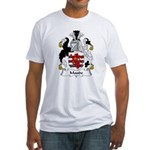 Maude Family Crest Fitted T-Shirt
