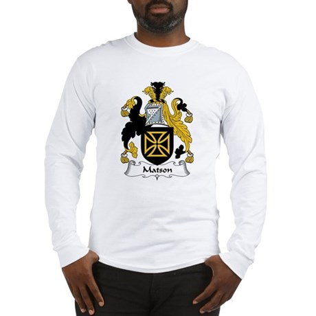 Matson Family Crest Long Sleeve T-Shirt