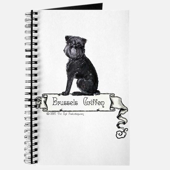 Brussels Griffon Banner Journal