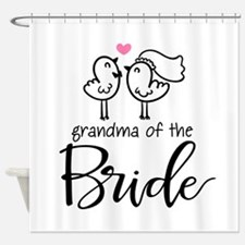 Grandma of The Bride Shower Curtain