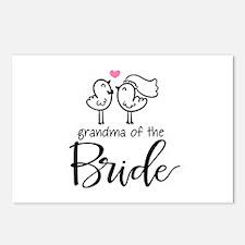 Grandma of The Bride Postcards (Package of 8)