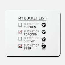 My Bucket List Mousepad