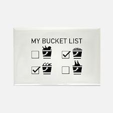 My Bucket List Rectangle Magnet