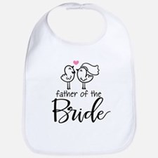Cute father of the Bride Bib