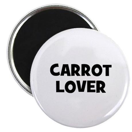 """carrot lover 2.25"""" Magnet (10 pack)"""