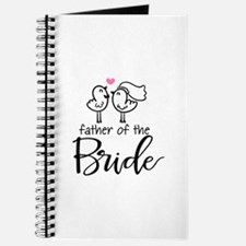Cute father of the Bride Journal