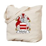 Martyn Family Crest Tote Bag